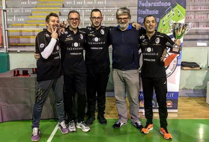vittoria al Major of Milan-fratelli Bari Sporting Club